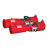 Heavy Duty Pneumatic Actuator IS & IC
